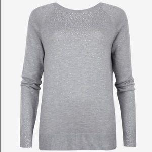 Ted Baker Sapphir Crystal Stud Sweater